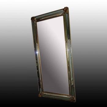 Specchio in bronzo dorato inizio XX secolo
