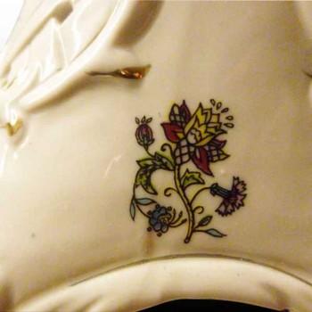 Romantische Franzosisch-Laterne Porzellan Bisquitporzellan Anfang des 20. Jahrhunderts