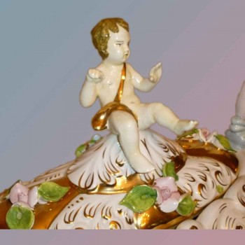 Italiaanse keramische amfora - de sestopalm