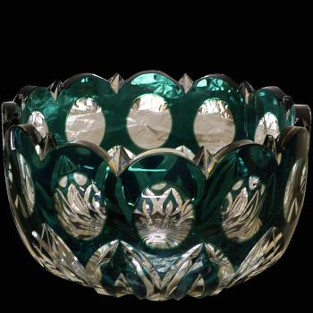 coupe en cristal val Saint Lambert modele pau