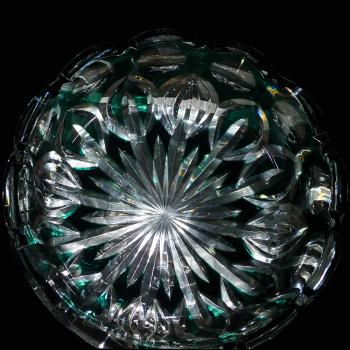 Kristallen beker Val Saint Lambert