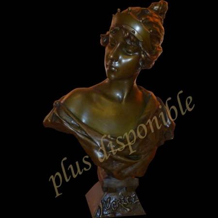 Bronze XIX eme siècle (Lucrèce)d'Emmanuel Villanis