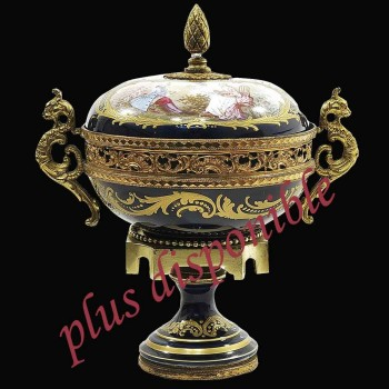 Frances de porcelana de Sevres Siglo 19