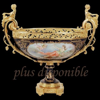 Copa de porcelana de Sevres, Louis Philippe era