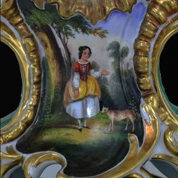 Slinger van XIX eeuw Franse porselein