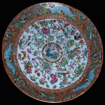 Cantón de porcelana del siglo XIX.