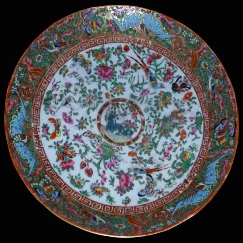 Canton porselein 19e eeuw