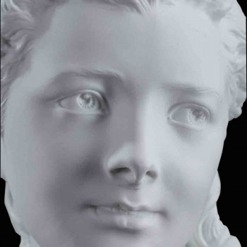 Biscuit bust Flore Carrier Belleuse XIX century