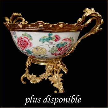 centre de table en porcelaine de Sevres XIX siecle