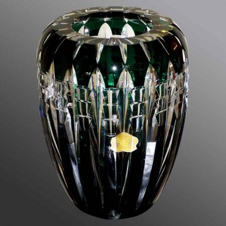 Vase en cristal du Val Saint Lambert Art Déco 1936