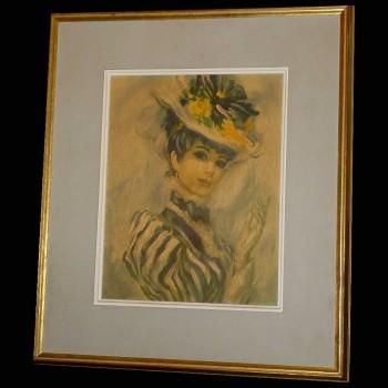 Lloyd John Strevens Frédéric- La hermosa elegante