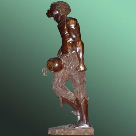 Afrikanische bildhauerische Kunst