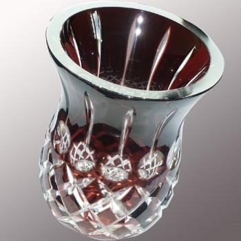 Val Saint Lambert Ananas Art-Deco-vase