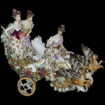 Duitse porseleingroep XIX eeuw
