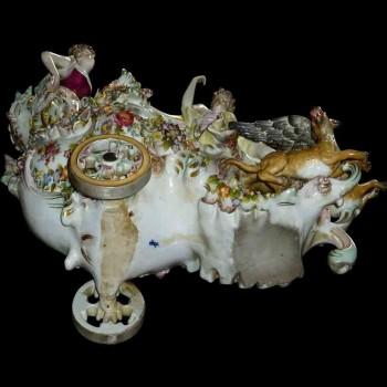 Groupe en porcelaine Allemande XIX siècle