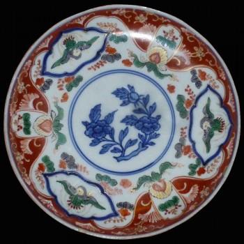 Plato de porcelana Imari siglo XIX