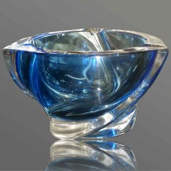 cendrier en cristal Val Saint Lambert vintage modèle Delvenne