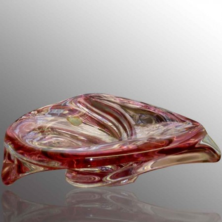 Coupé en cristal Val Saint Lambert Jahrgang R. Delvenne