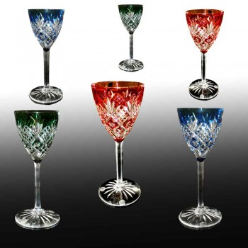 Baccarat crystal glasses 1920