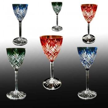 Baccarat kristallen glazen 1920