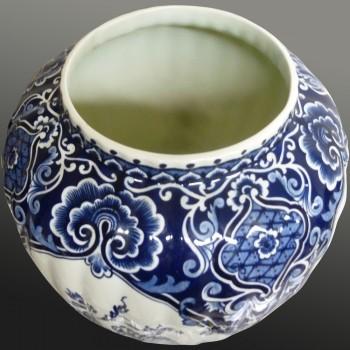 Royal Sphinx Delft Boch earthenware vase
