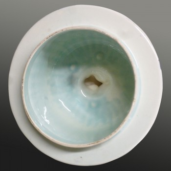 Delft Boch earthenware vase