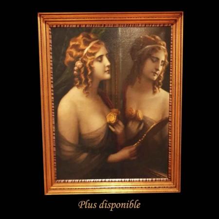 Romantic oil on canvas