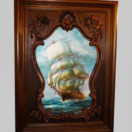 Grote 19e eeuwse marine