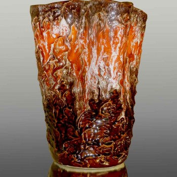 Vintage Vallauris vase signed 1950-1960 period