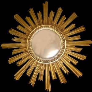 Espejos de oro dorado antiguo-espejos