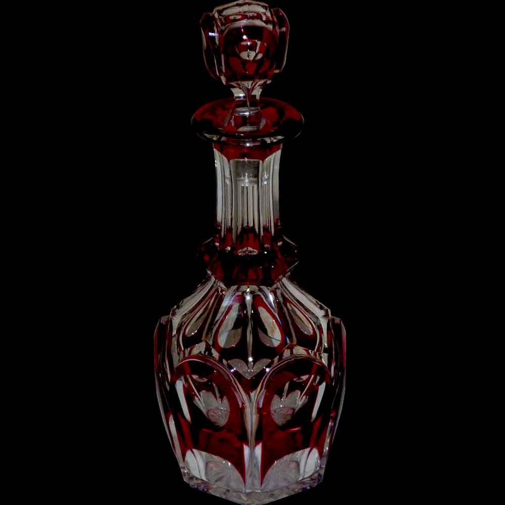 Carafe en cristal Val Saint Lambert Marie-Stewart