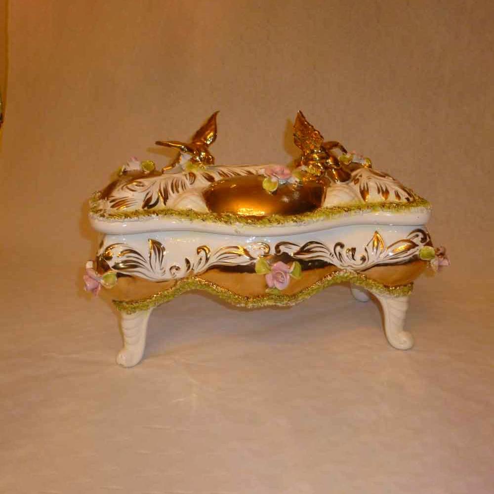 Italienische Keramikbox - die Sesto-Palme.