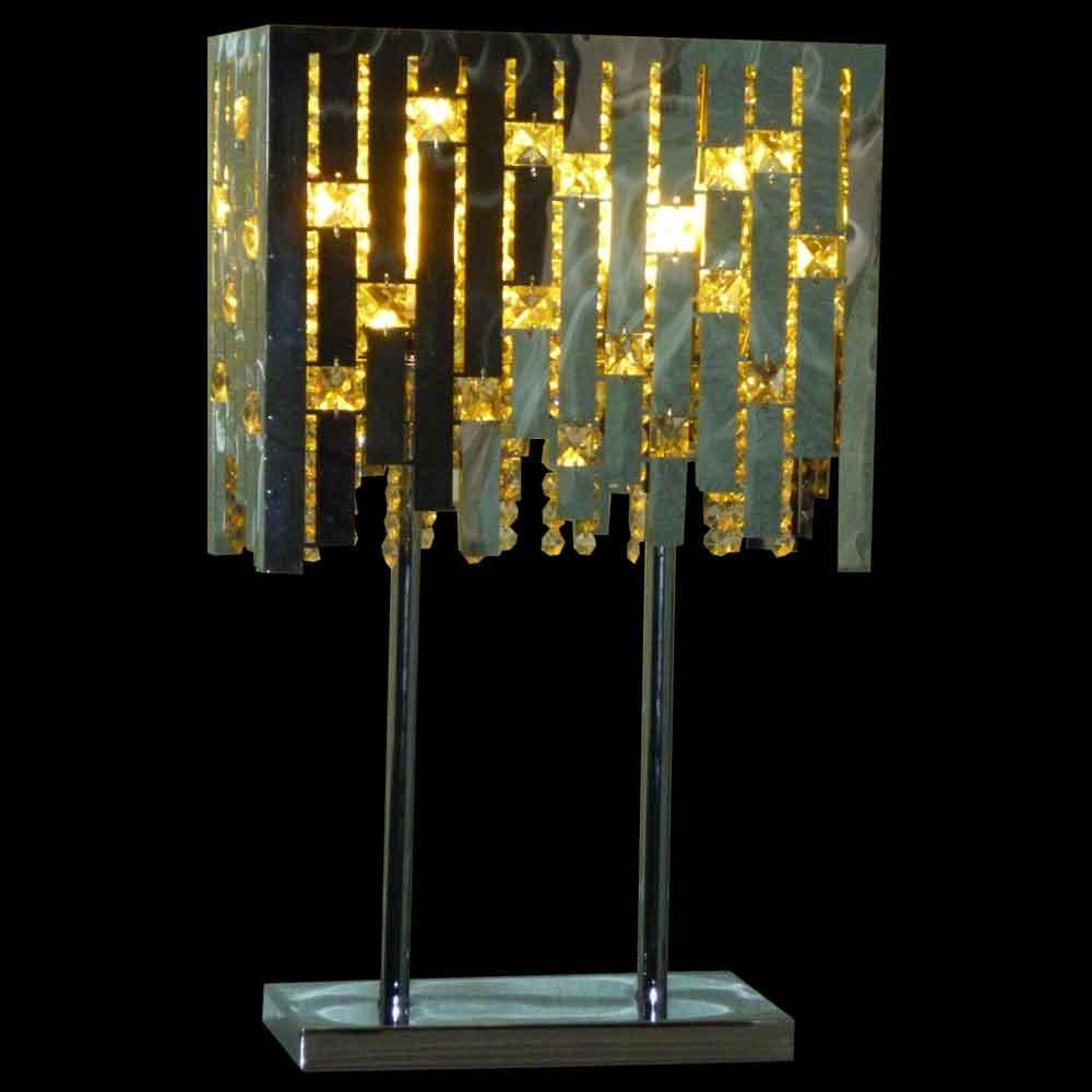 Luminaire chromé vintage design Max Sauze 1970