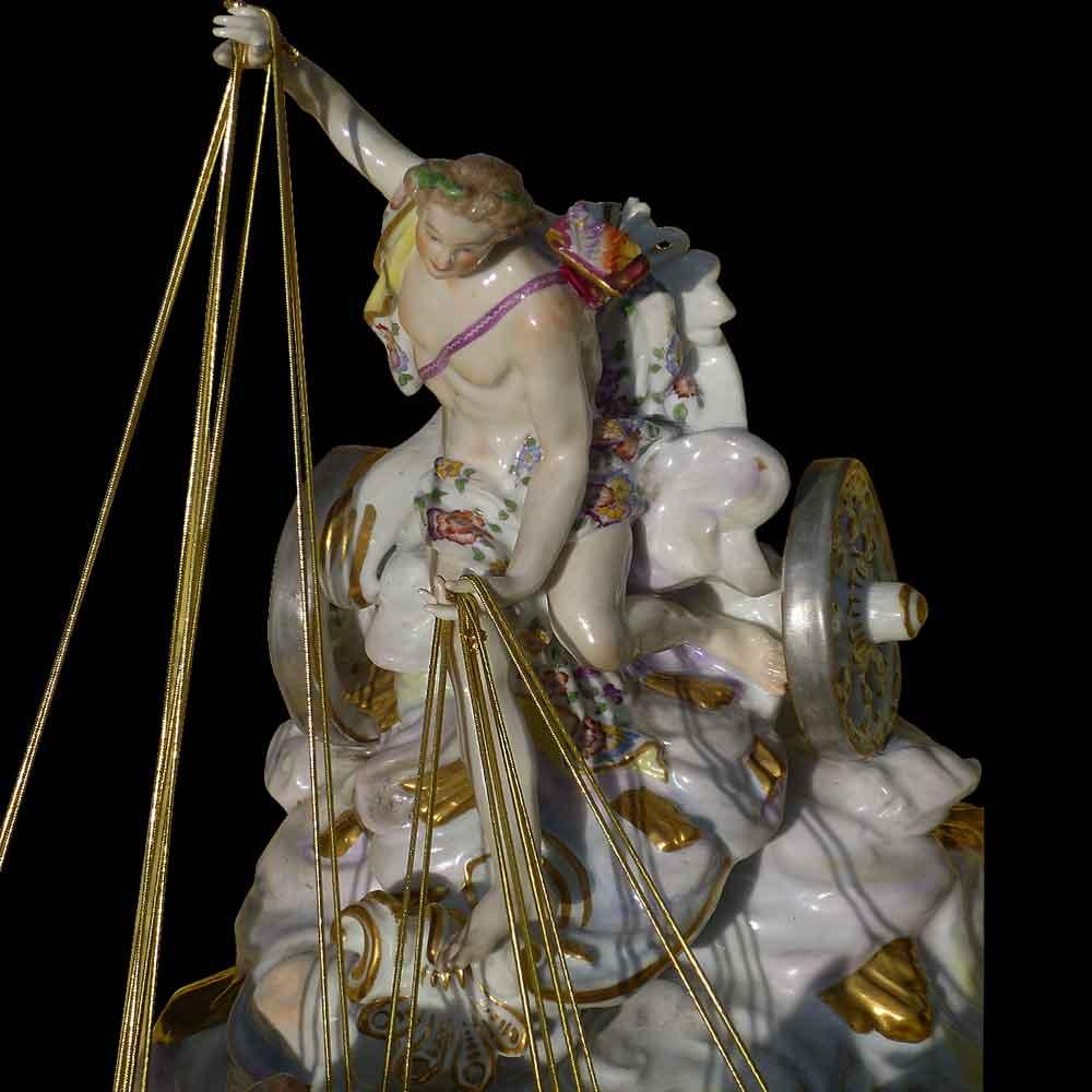 Triomphe d'Apollon-porcelaine de collection, sèvres ( Samson ) XIX siècle