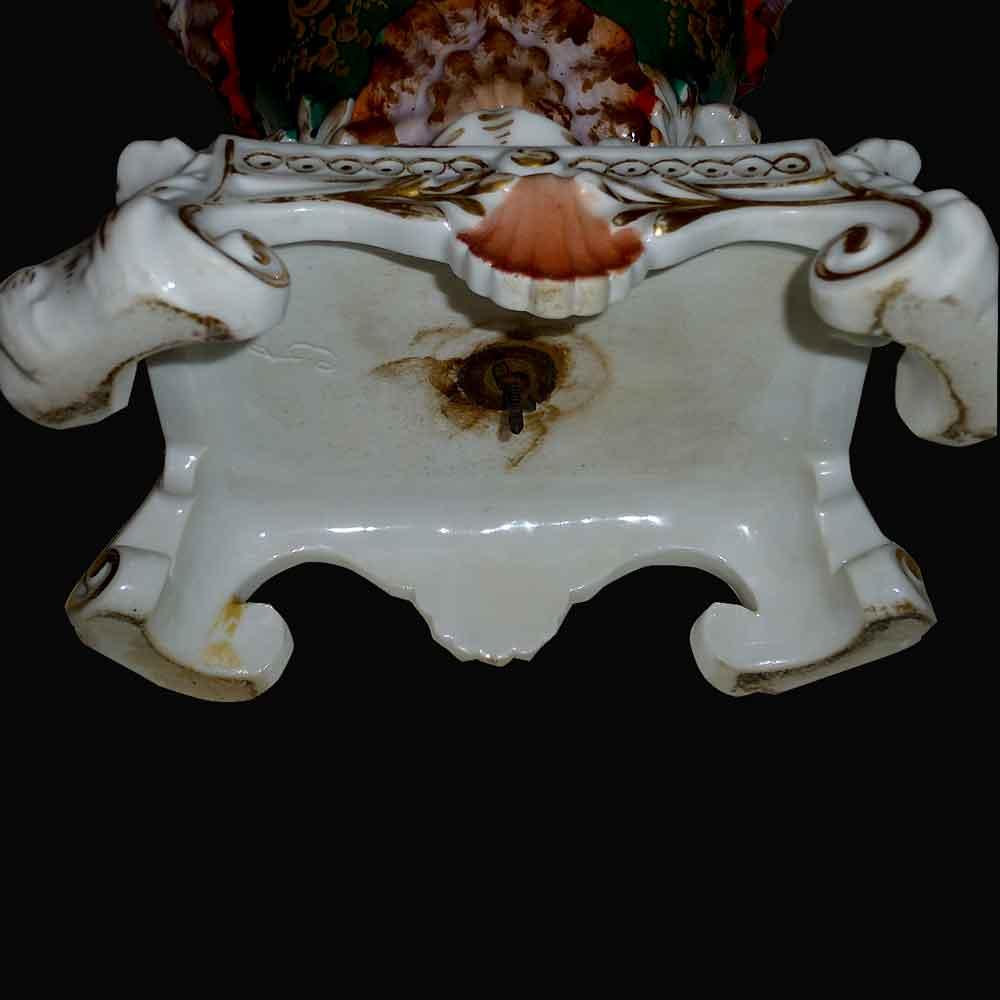 Vase en porcelaine de Paris 19 eme j p