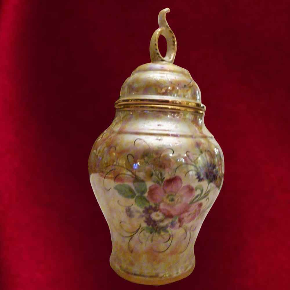 Vase-Potiche H. Bequet Quaregnon